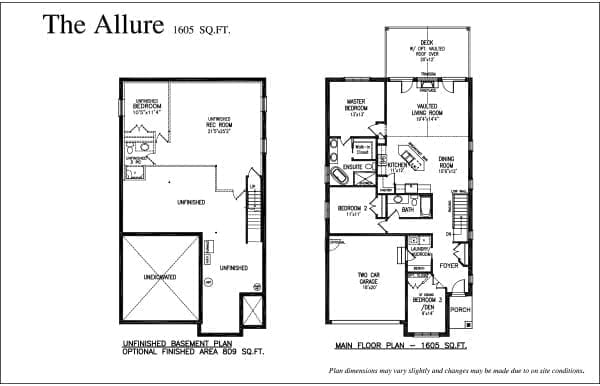 The Allure - Floor Plan - Rembrandt Walk