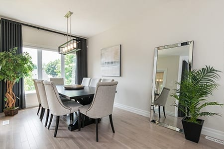 Rembrandt Estates - Dining area - new housing development