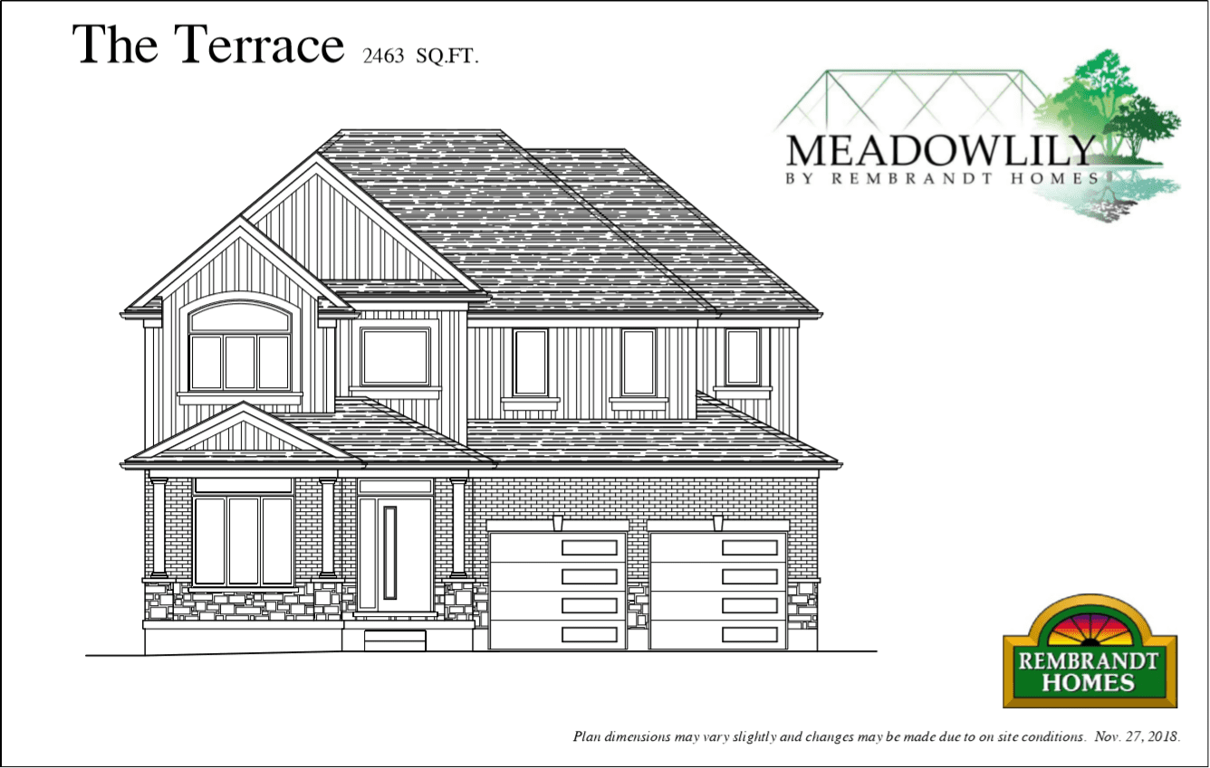 The Terrace - Meadowlily - Build Plan