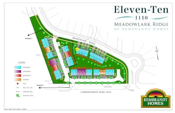 Eleven Ten - Site Plan