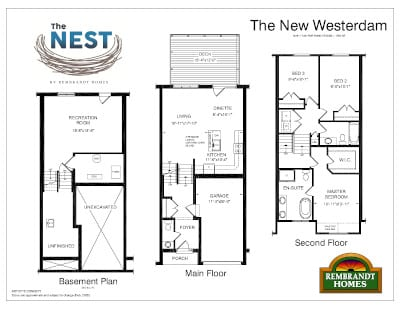 The Nest New Westerdam Floor Plan